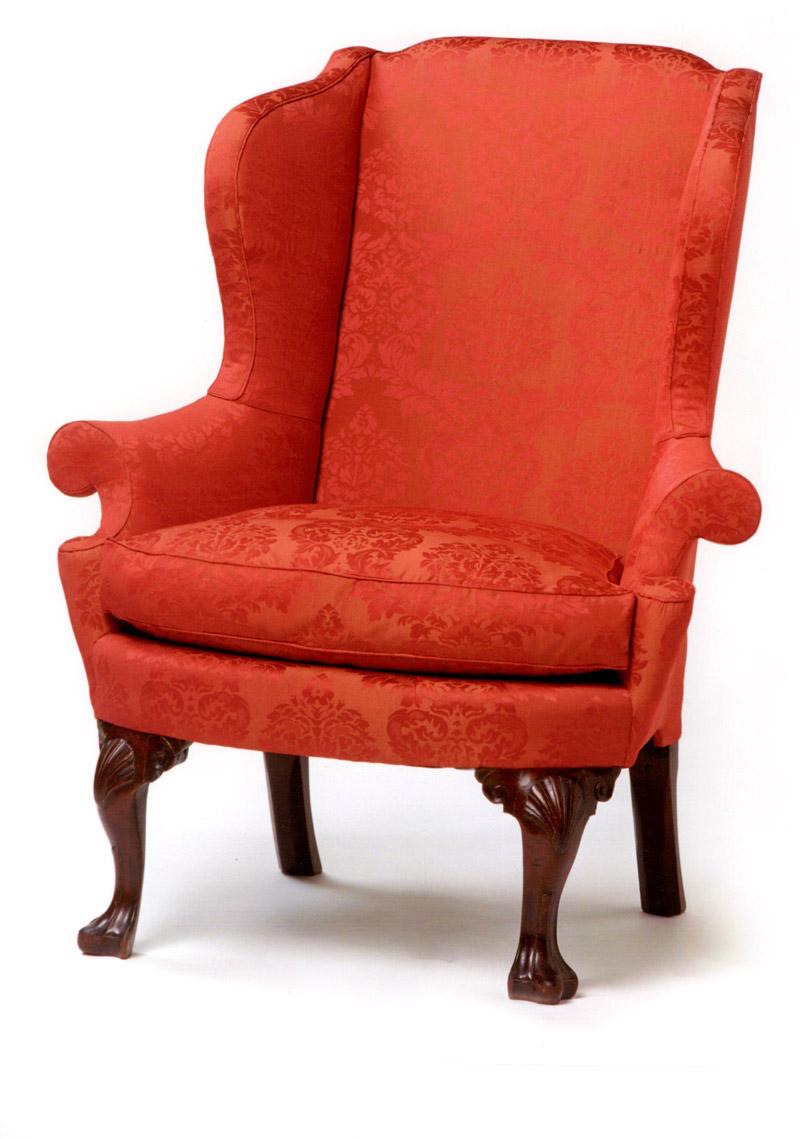 Philadelphia Queen Anne Shell u0026 Voluted Knee Easy Chair  sc 1 st  Andersen u0026 Stauffer Furniture & Andersen u0026 Stauffer Furniture Makers : Seating : Philadelphia Queen ...