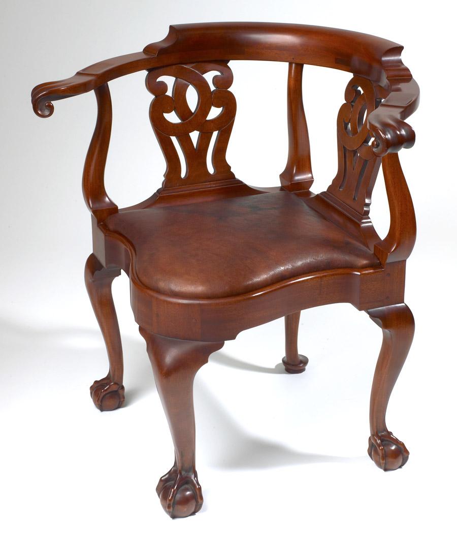 andersen stauffer furniture makers seating goddard corner chair